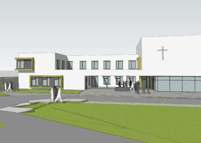 Kirchliches Gemeindezentrum mit Kindertagesstätte Wasserburg